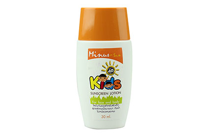 Minus-Sun Kids Sunscreen Lotion SPF40PA+++ 30ml