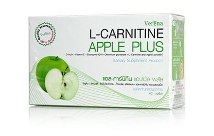 Verena L-Carnitine Apple Plus 150g