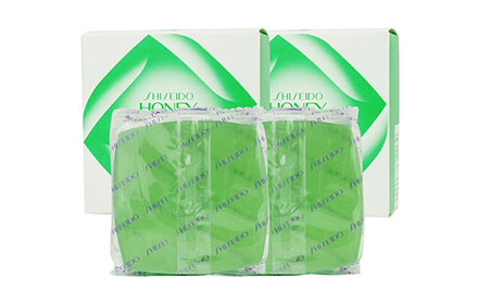 [แพ็คคู่] Shiseido Honey Cake Translucent Soap E-4 [Refill] [100g x 2pcs]