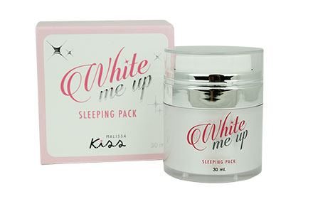Malissa Kiss White Me Up Sleeping Pack 30g