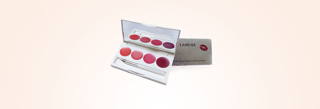 Laneige Serum Intense Lipstick 4 Color Lip Palette
