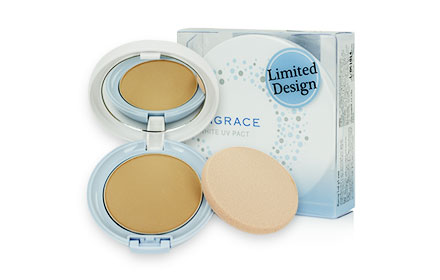 Sungrace White UV Pact Limited Design SPF18 PA++ #O3 12g