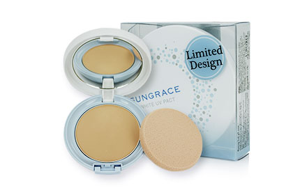 Sungrace White UV Pact Limited Design SPF18 PA++ #N2 12g