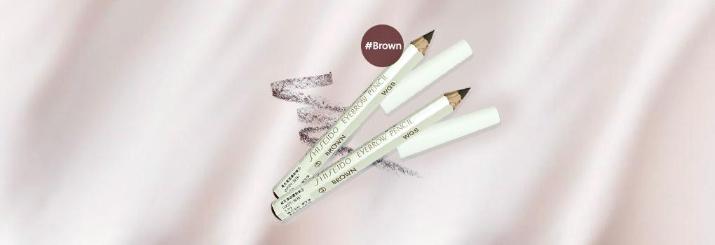 [แพ็คคู่] Shiseido Eyebrow Pencil #3 Brown