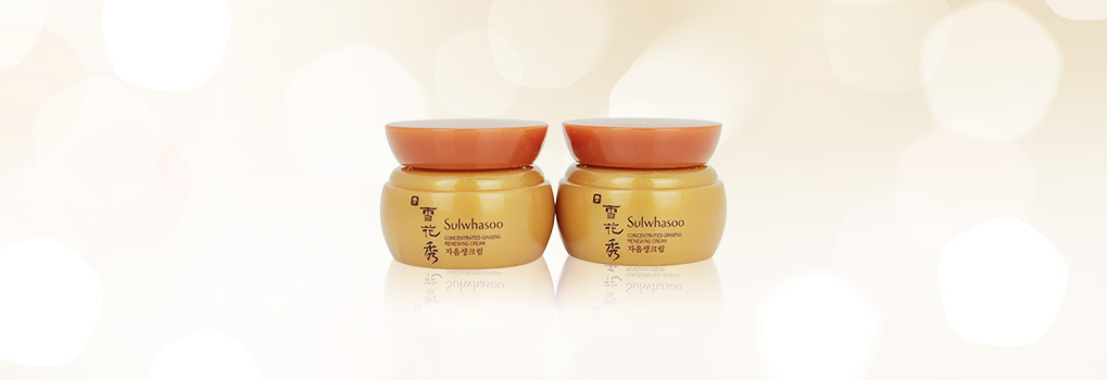 แพ็คคู่ Sulwhasoo Concentrated Ginseng Renewing Cream (5mlx2pcs)