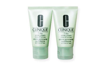 แพ็คคู่ Clinique 7 Day Scrub Cream Rinse-Off Formula (30ml x2)