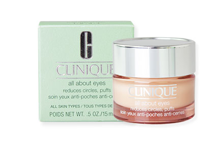 Clinique All About Eyes Reduces Circles, Puffs 15ml