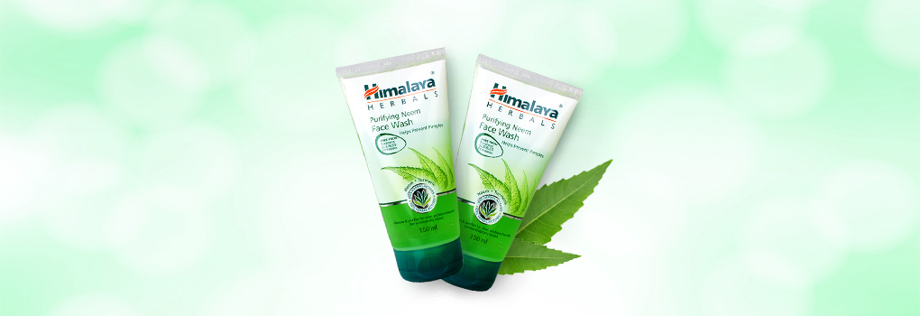 แพ็คคู่ Himalaya Herbals Purifying Neem Face Wash (150mlx2)