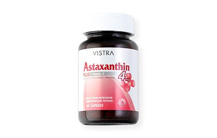 Vistra Astaxanthin Plus Vitamin E 4mg (30 Tablets)
