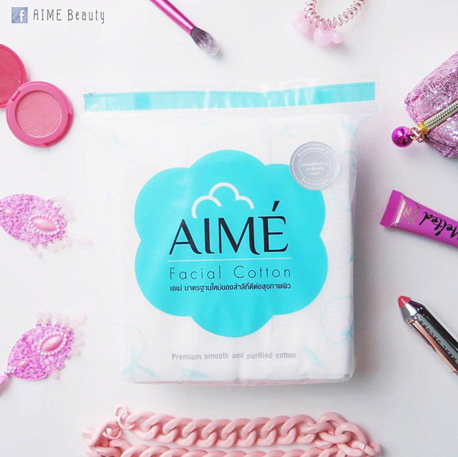 Aime Facial Cotton 80g (150pcs x 2)_1