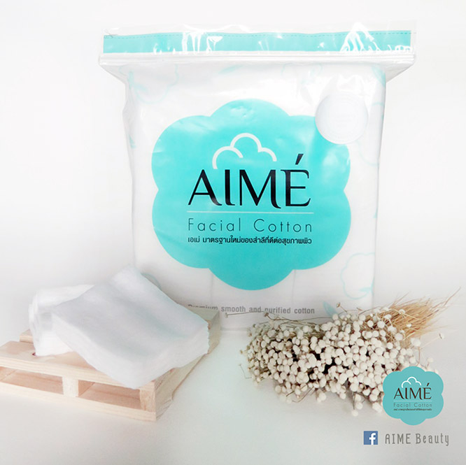 Aime Facial Cotton 80g (150pcs x 2)_6
