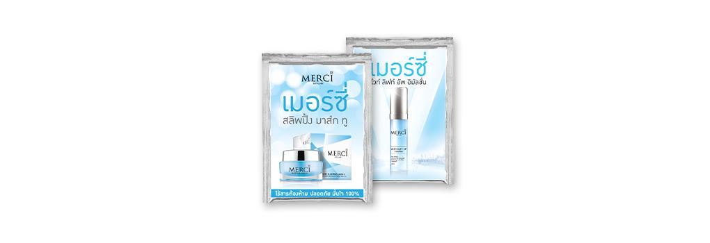 [Free Gift] Merci Sleeping Mask ii Tester 2ml & Merci White Lift Up Emulsion Tester 2.5ml