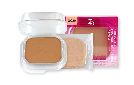 Za Perfect Fit Two-Way Foundation SPF20 PA++ Refill 9g #OC20