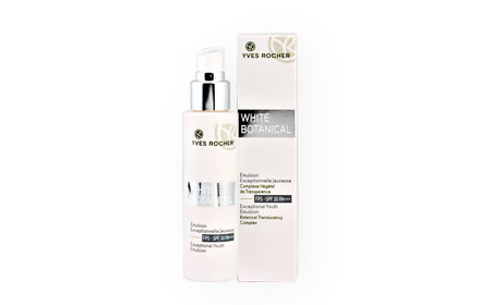 Yves Rocher White Botanical Exceptional Youth Emulsion SPF 30 PA+++ 50ml