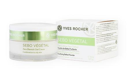 Yves Rocher Sebo Vegetal Zero Blemish Gel Cream 50ml