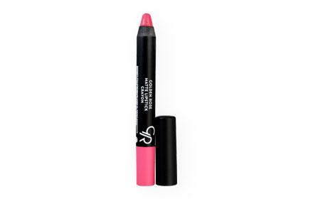 Golden Rose Matte Lipstick Crayon 3.5g #17 ( สินค้าหมดอายุ : 2020.03 )