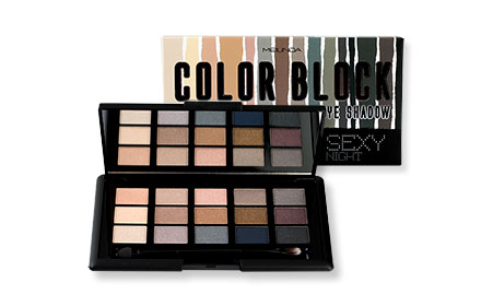 Mei Linda Color Block Eye Shadow 15g #MC3074-02 Sexy Night