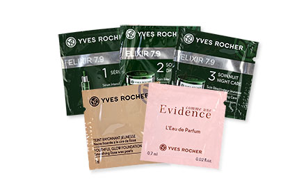 Yves Rocher Best Seller Top 5 Pouch Tester Set