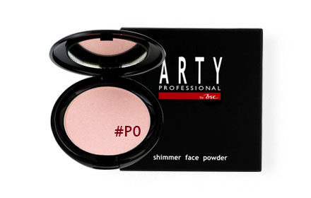 Arty Professional Shimmer Face Powder 12g #P0