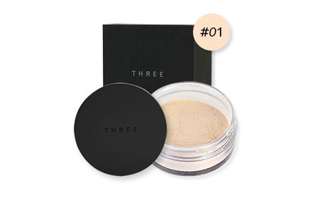 THREE Ultimate Diaphanous Loose Powder 17g #Glow 01