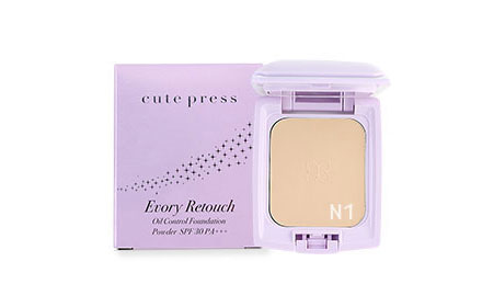 Cute Press Evory Retouch Oil Control Foundation Powder SPF 30 PA+++ #N1