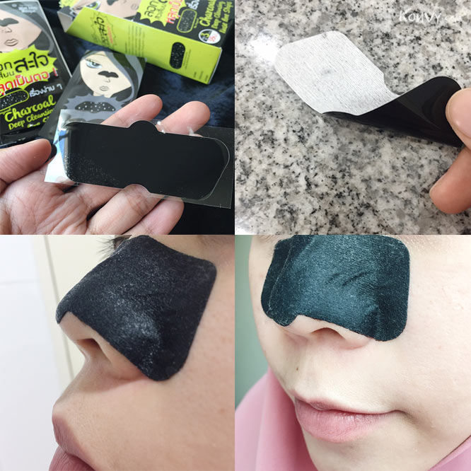 The Original Charcoal Deep Cleansing Nose Pore Strips_4