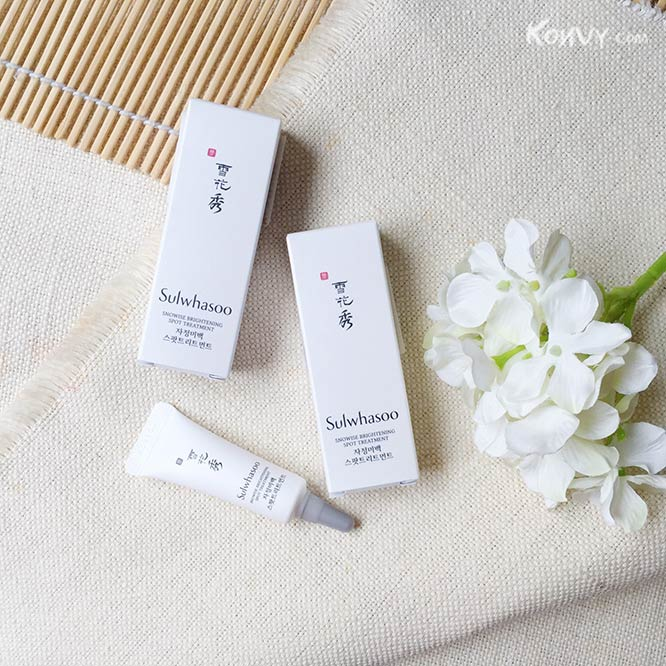 แพ็คคู่ Sulwhasoo Snowise Brightening Spot Treatment_1