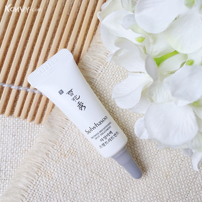 แพ็คคู่ Sulwhasoo Snowise Brightening Spot Treatment_2