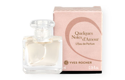 Yves Rocher Quelques Notes d'Amour L'Eau de Parfum 5ml