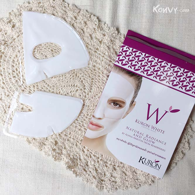 Kuron White Crystal Mask 1 pcs_2