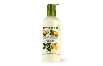 Yves Rocher Energizing Body Lotion 390ml #Lemon Basil
