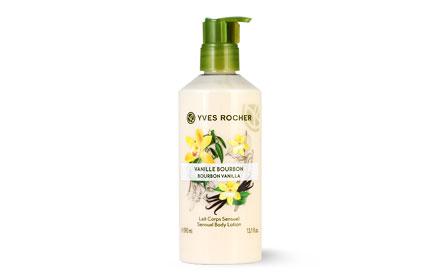 Yves Rocher Sensual Body Lotion Bourbon 390ml #Vanilla