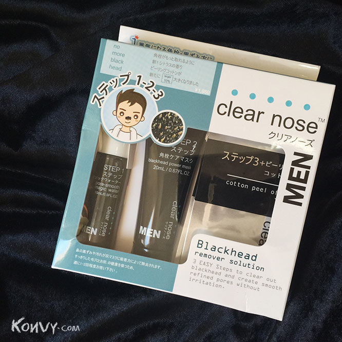 Clear Nose Men Blackhead Remover Solution Set 3 Item_3