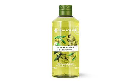 Yves Rocher Relaxing Bath & Shower Gel 400ml #Olive Petitgrain