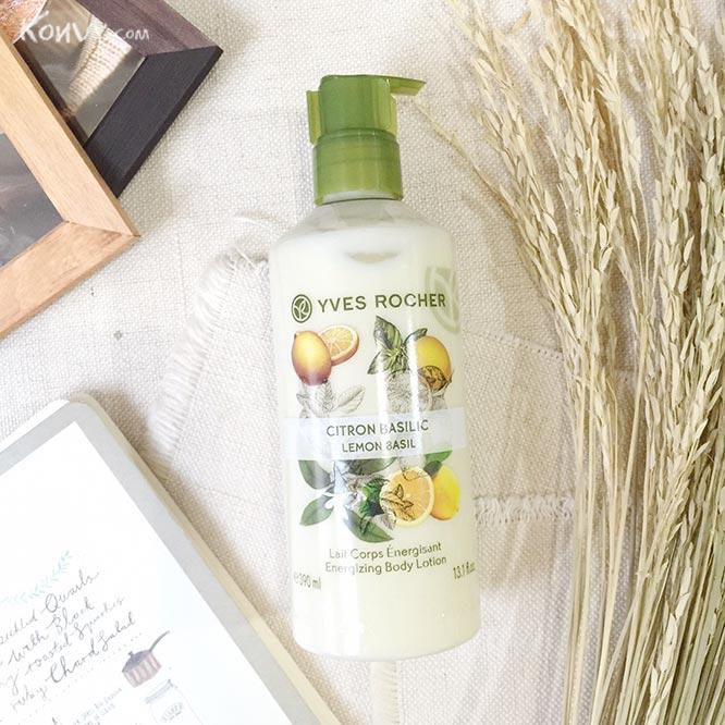 Yves Rocher Energizing Body Lotion 390ml #Lemon Basil_1