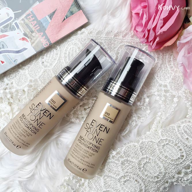 Catrice Even Skin Tone Beautifying Foundation #020 Beige Rose_1