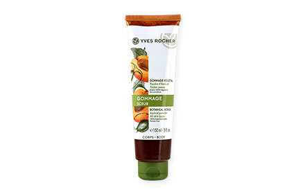 Yves Rocher Gommage Apricot Botanical Scrub Body 150ml