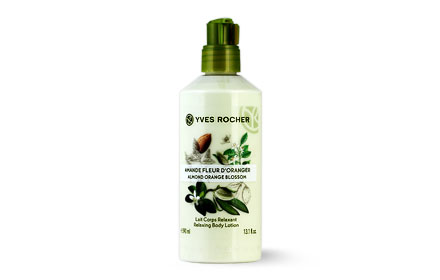Yves Rocher Relaxing Body Lotion 390ml #Almond Orange Blossom