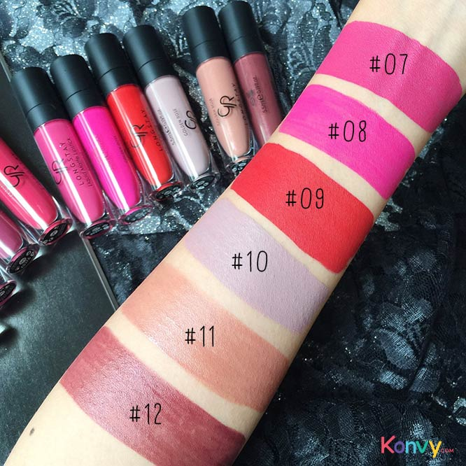Golden Rose Longstay Liquid Matte Lipstick #01_4