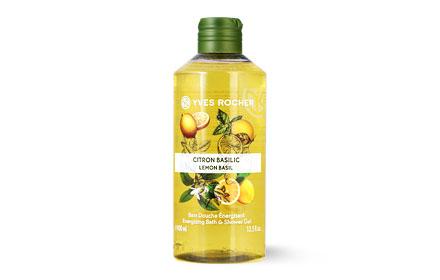 Yves Rocher Energizing Bath & Shower Gel 400ml #Lemon Basil