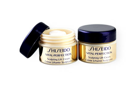 แพ็คคู่ Shiseido Vital-Perfection Sculpting Lift Cream (7mlx2pcs)