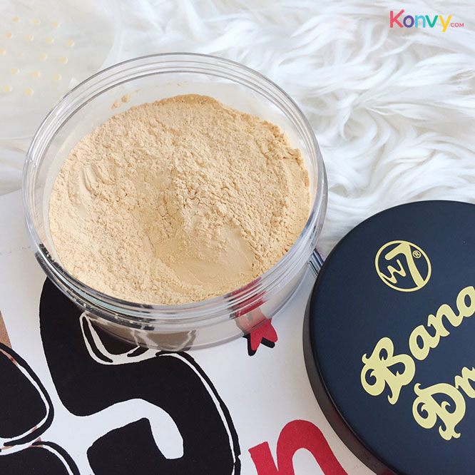 W7 Banana Dreams Loose Powder 20g_1