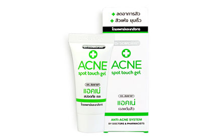 Dr.Somchai Acne Spot Touch Gel 8g ( สินค้าหมดอายุ : 2020.11 )
