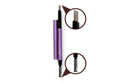 Cute Press Jet Set Professional Eyebrow Pencil Waterproof #Deep Brown