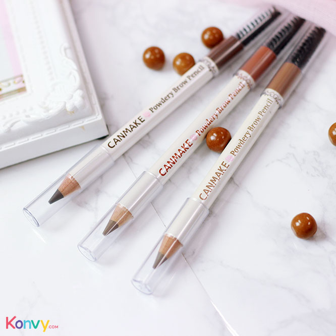 Canmake Powdery Brow Pencil #01_1
