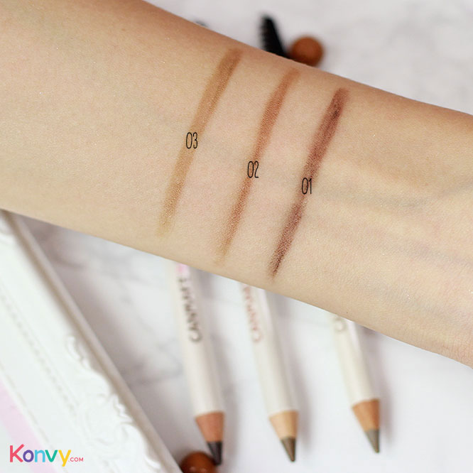 Canmake Powdery Brow Pencil #03_3