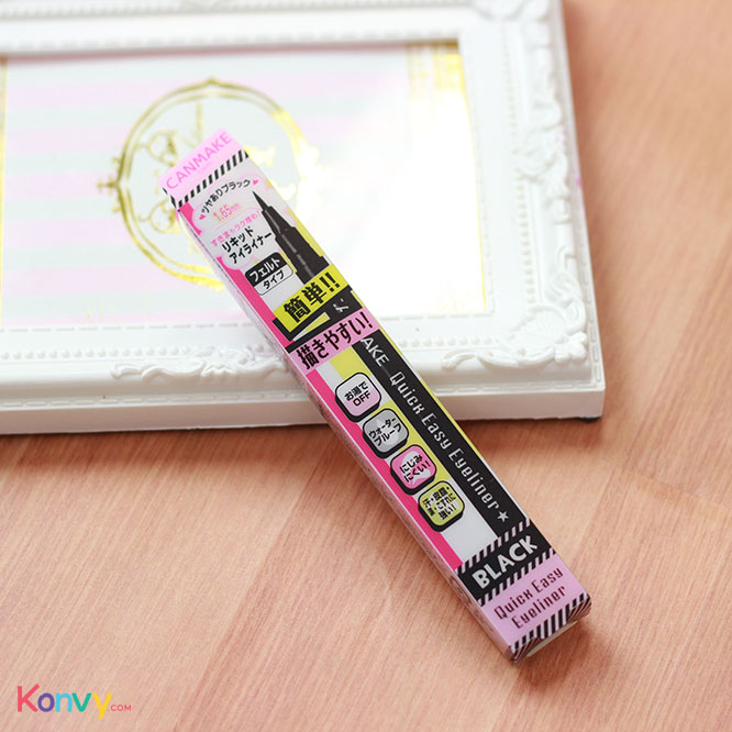 Canmake Quick Easy Eyeliner #01 Black_1