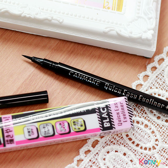 Canmake Quick Easy Eyeliner #01 Black_2
