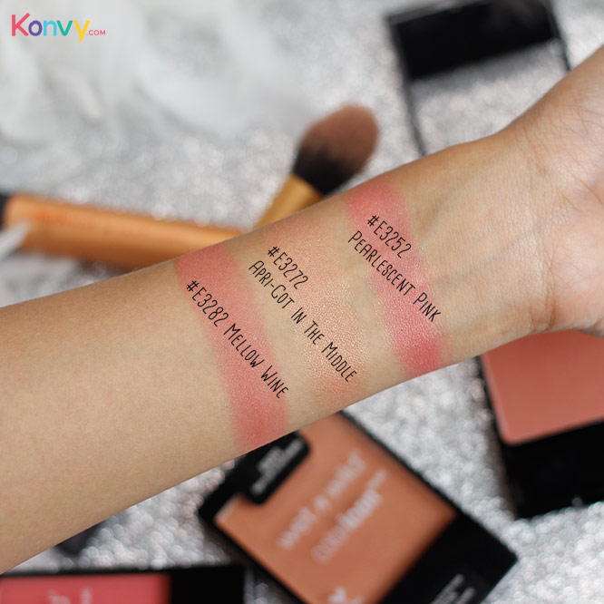 Wet n Wild Coloricon Blush #E3282 Mellow Wine_3