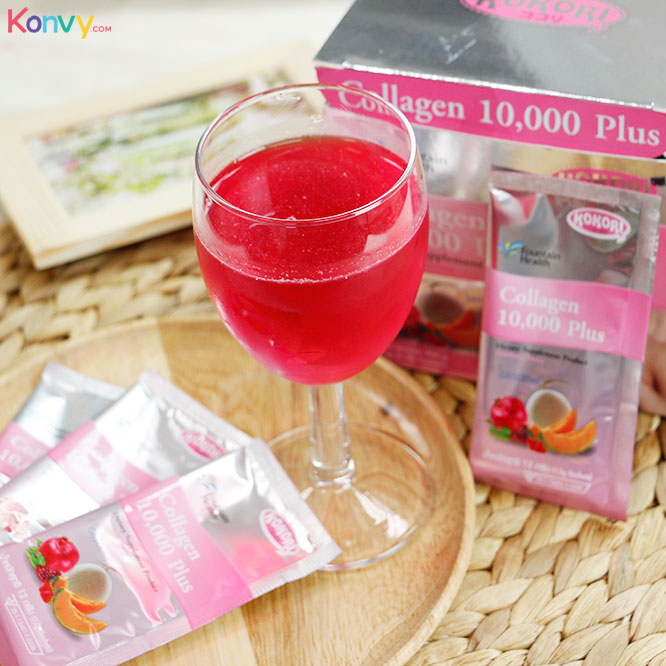 Kokori Collagen 10,000 Plus Dietary Supplement Product (30 Sachets x 1 Boxes)_3